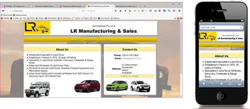 LR Manufacturing & Sales - Zimbabwe