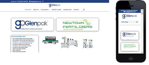Glenpak Packaging and materials