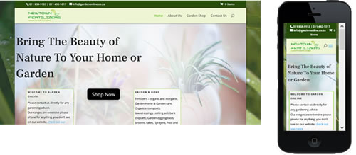 Gardenonline website image