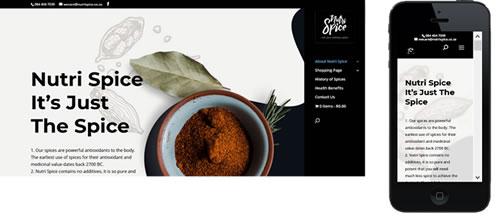 Nutrispice organic spices